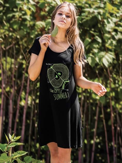 Сорочка женская Key черная S
