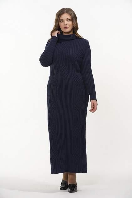 Платье женское VAY 2311 синее 44 RU