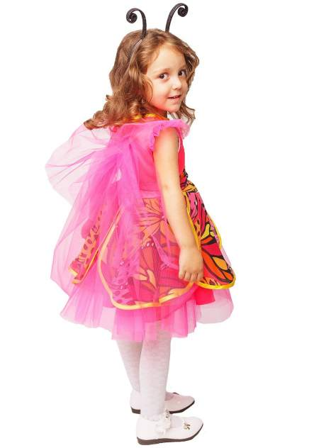 Карнавальный костюм Батик, цв. розовый