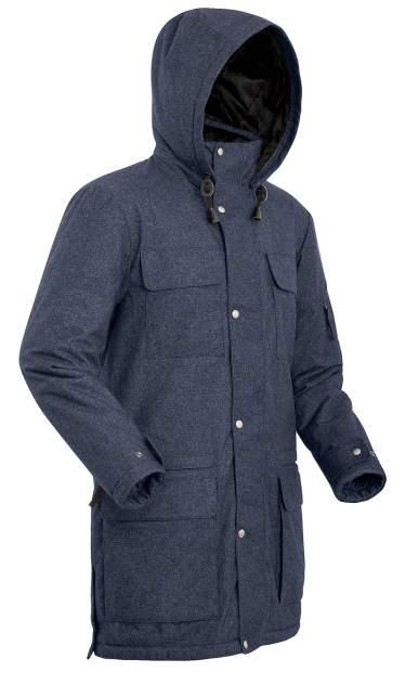 Пальто  SHL FORESTER 8001-9309-050 СИНИЙ ТМН 50