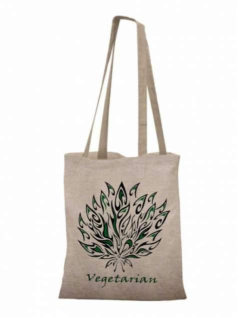 Пляжная сумка 30х40 см Vegeterian sfer.tex 1745231