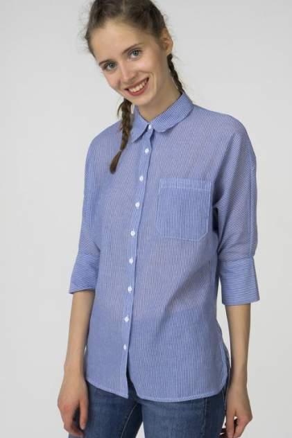 Рубашка женская Marimay 7171-7 синяя 44 RU