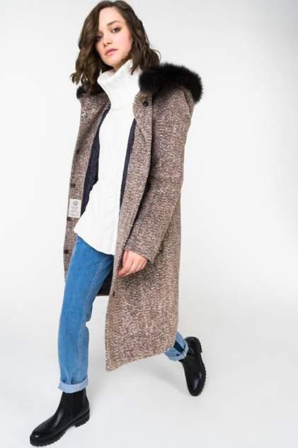 Женское пальто ElectraStyle НП4У-7123-271, коричневый