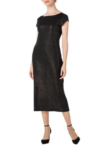 Платье женское Adzhedo 41768 черное 4XL