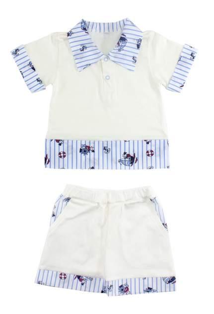 Комплект одежды Осьминожка, цв. белый