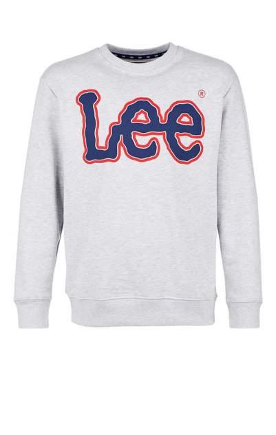 Свитшот мужской Lee серый 56