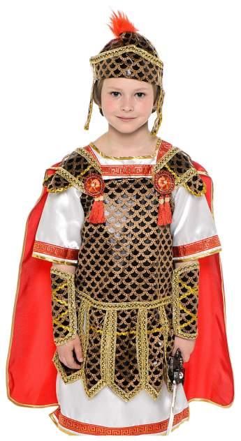 Карнавальный костюм Батик Гладиатор, цв. красный р.128