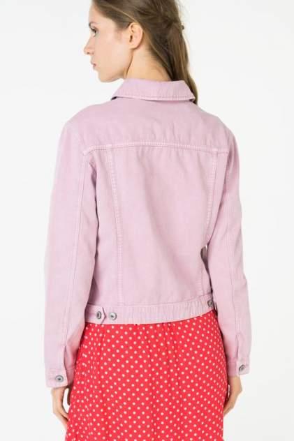 Джинсовая куртка женская ZARINA 8224444644097 розовая 42 RU