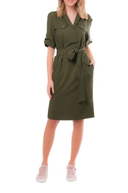 Платье женское Argent VLD905627 зеленое 52 RU