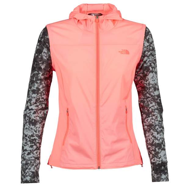 Куртка The North Face Mestral Hoodie, neon peach, M INT