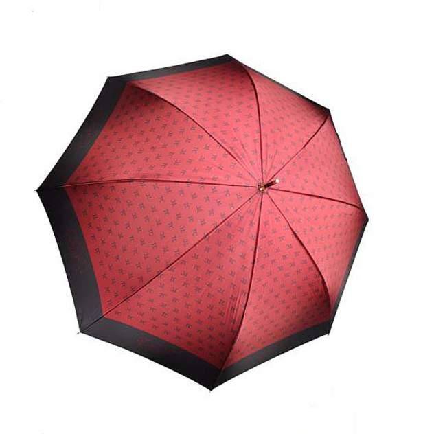 Зонт-трость женский полуавтоматический Три Слона 2888-04 красный