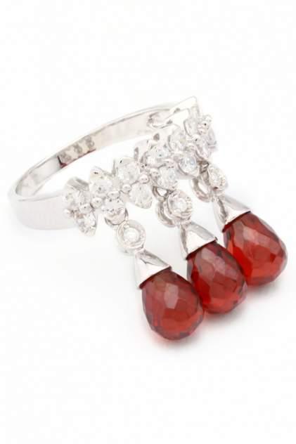 Кольцо женское с каплями YOUKON AR 13403 серебряное р.17