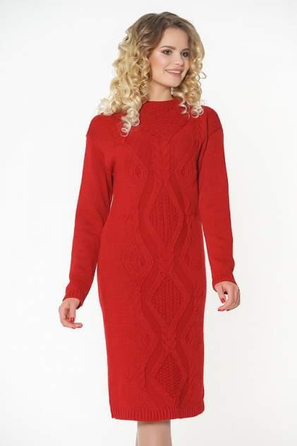 Платье женское VAY 2282 красное 54 RU