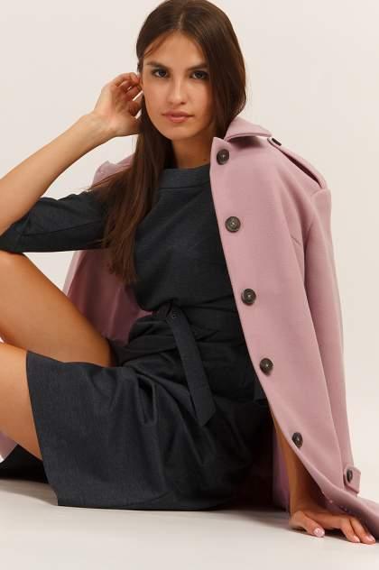 Женское пальто Finn Flare A19-12024, фиолетовый