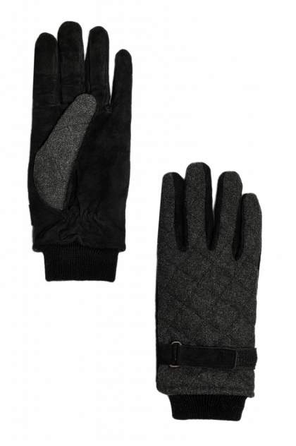 Перчатки мужские Finn-Flare W19-21301 черные 8