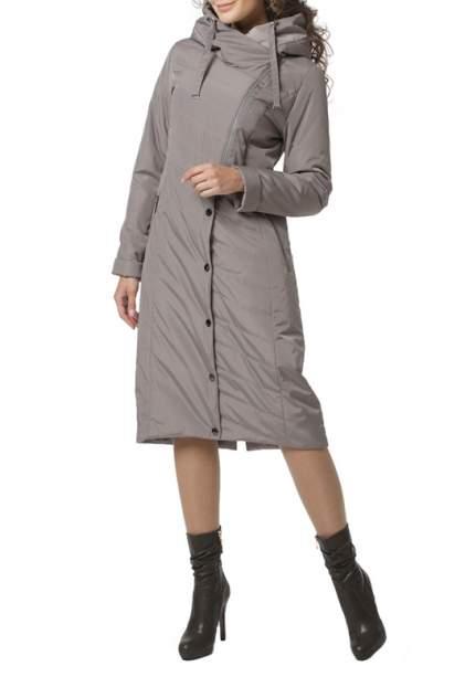 Пуховик-пальто женский DizzyWay 20104 серый 56 RU