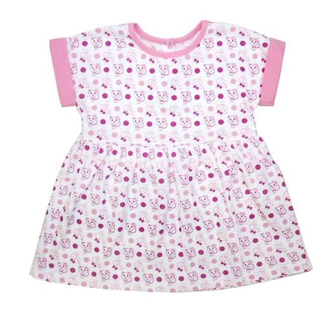 Платье детское Осьминожка, цв.розовый