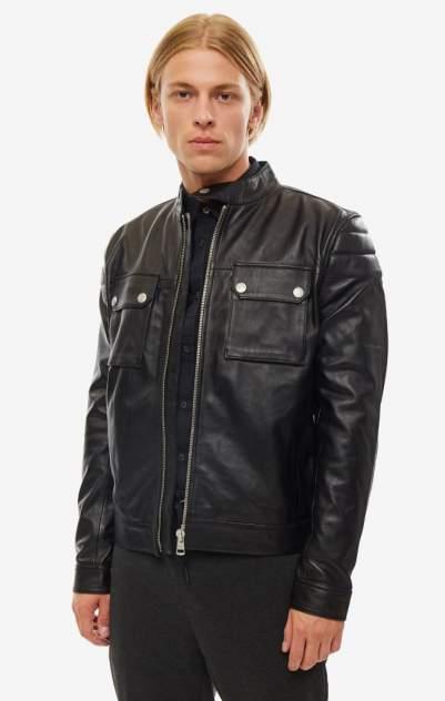 Куртка кожаная мужская Calvin Klein Jeans J30J3.12528.0990 черная S