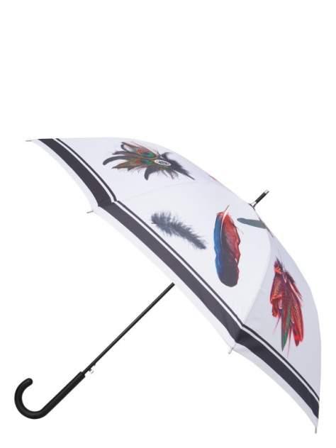 Зонт-трость женский полуавтоматический Eleganzza 01-00029242 серый