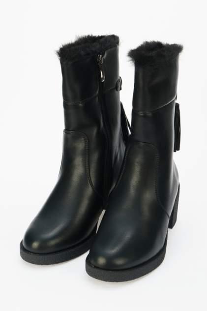 Полусапоги женские Betsy 998061/01 черные 37 RU
