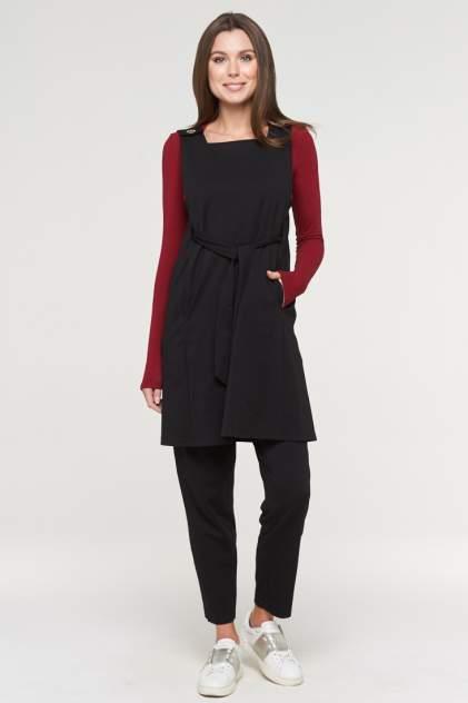 Платье женское VAY 192-3568 черное 44 RU