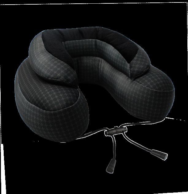 Дорожная подушка Cabeau Evo Microbead™ Black Plus