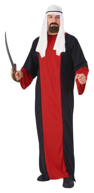 Карнавальный костюм Бока Али Баба, цв. черный; красный р.176