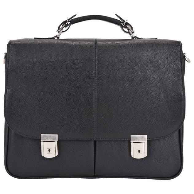 Портфель мужской кожаный Dr. Koffer B393160-02-04 черный