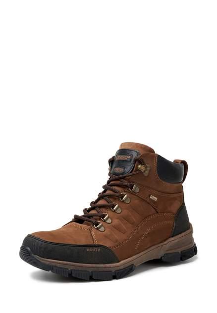 Ботинки мужские Alessio Nesca 79707690 коричневые 42 RU