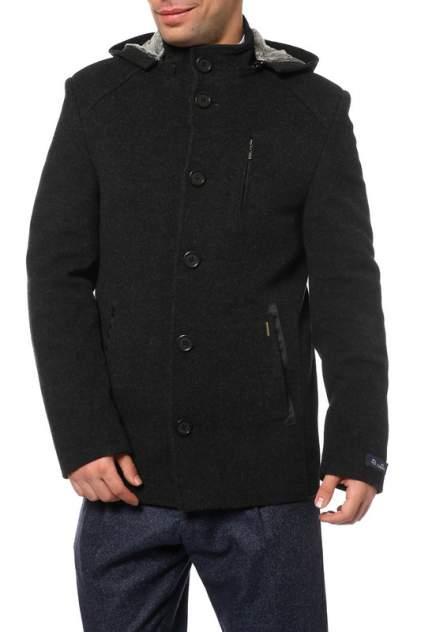 Мужское пальто Caravan Wool К125МЕЛАНЖ, серый