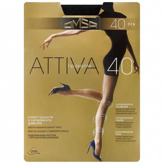 Колготки Omsa ATTIVA 40 /  Nero  (Черный) / 3 (M)