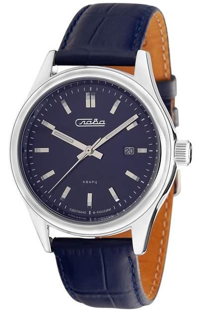 Наручные кварцевые часы Слава Премьер 1581892/300-2115