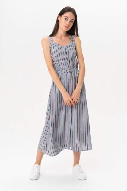 Платье женское ICHI 20109059 голубое M
