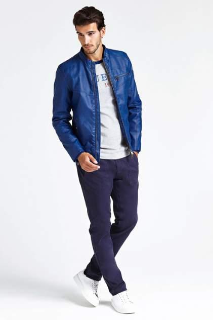 Куртка мужская GUESS JEANS M93L19WBS60G7M9 синяя XL