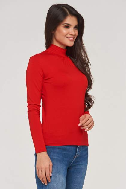 Водолазка женская VAY 0221 красная 56 RU