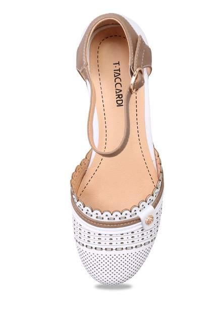 Туфли женские T.Taccardi 27306450 белые 36 RU