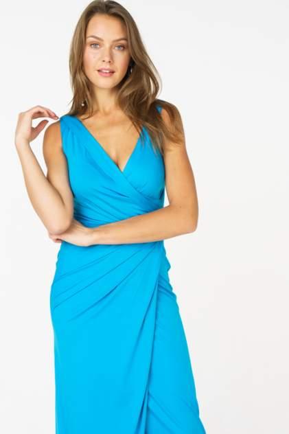 Вечернее платье женское LA VIDA RICA 5892 бирюзовое 42 RU
