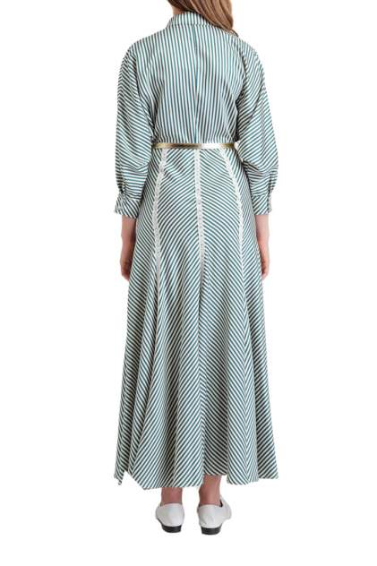 Платье женское BGN S19D189 серое 38 FR