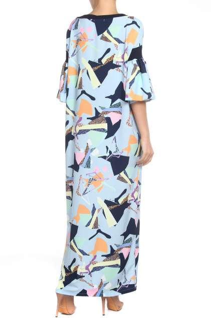Платье женское Adzhedo 41543 голубое M-L RU