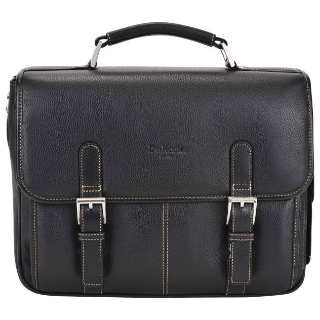 Портфель мужской кожаный Dr. Koffer B393170-02-04 черный
