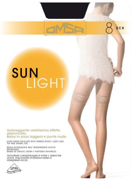 Чулки женские Omsa 186 Sun Light 8d-1 телесные S