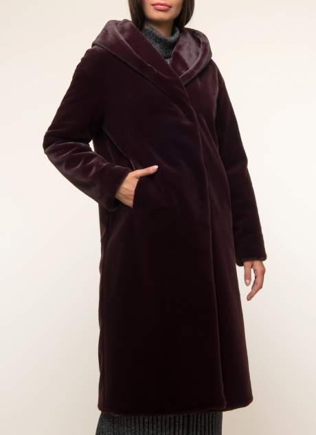 Женская шуба Синар ДОМЕНИЛЬ  906, красный