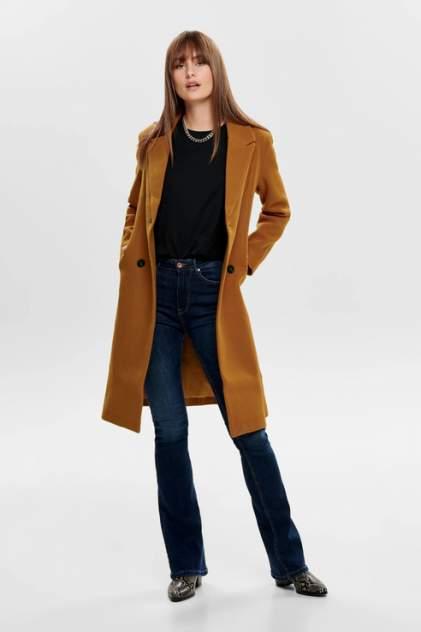 Пальто женское ONLY 15180329 коричневое L