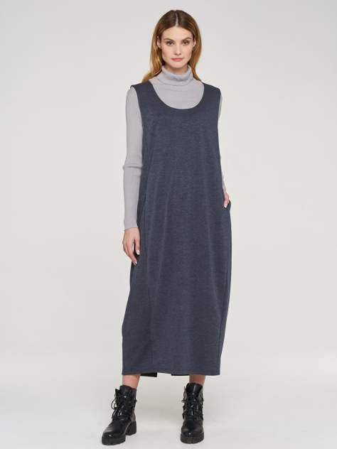 Платье женское VAY 192-3551 синее 58 RU