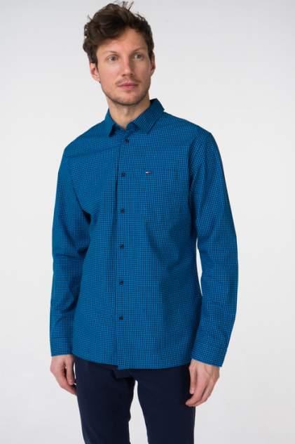 Рубашка мужская Tommy Hilfiger DM0DM05464, синий