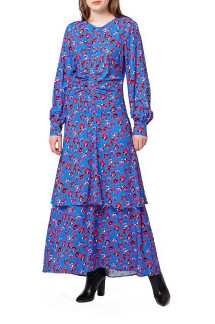 Платье женское BGN W20D329 синее 38 FR