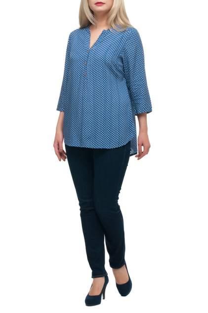 Блуза женская OLSI 1710019/1V голубая 66 RU