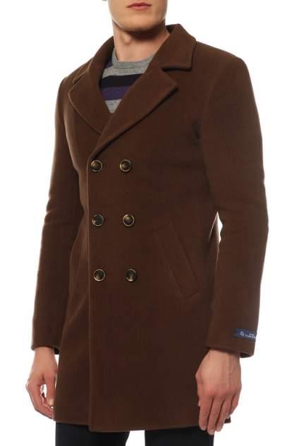 Пальто мужское Caravan Wool МАРРОНА коричневое 44 RU