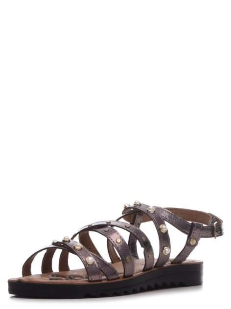 Босоножки женские T.Taccardi 710018129 серебристые 38 RU