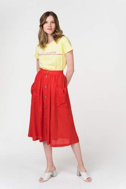Юбка женская Blend She 20203302 красная S